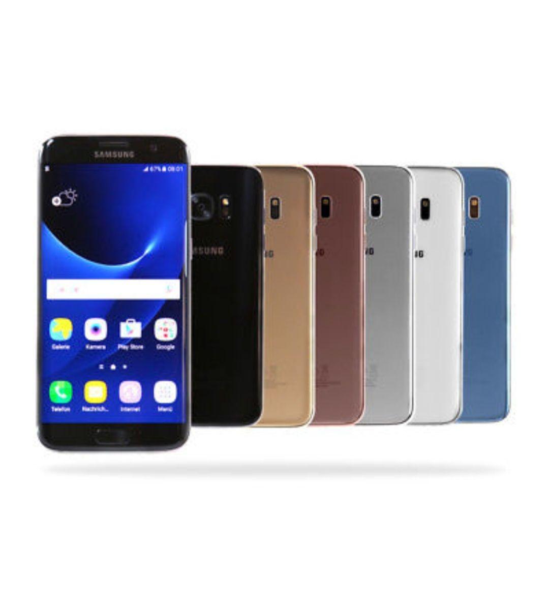 Samsung Galaxy S7 Edge G935F 32GB / Schwarz Weiß Silber Gold / Händler Gebraucht