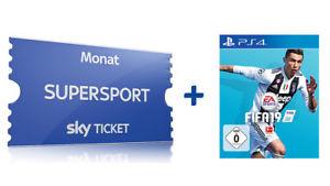 Sky Supersport + Fifa 19 (ps4) für nur 29.99