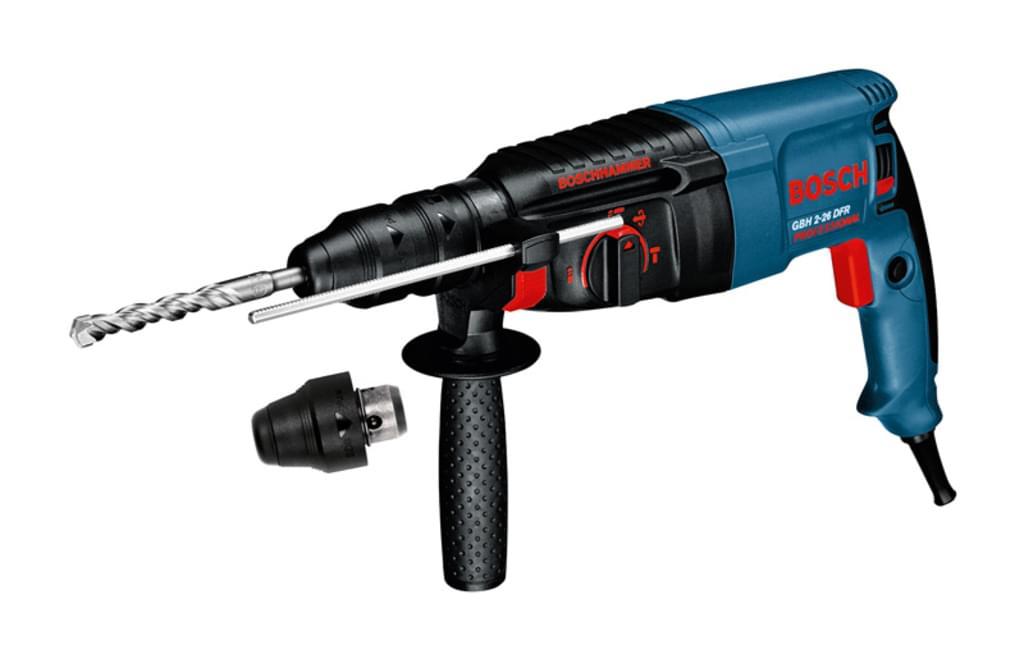 Bosch GBH 2-26 DFR Bohrhammer 800W für 150€ [Real]