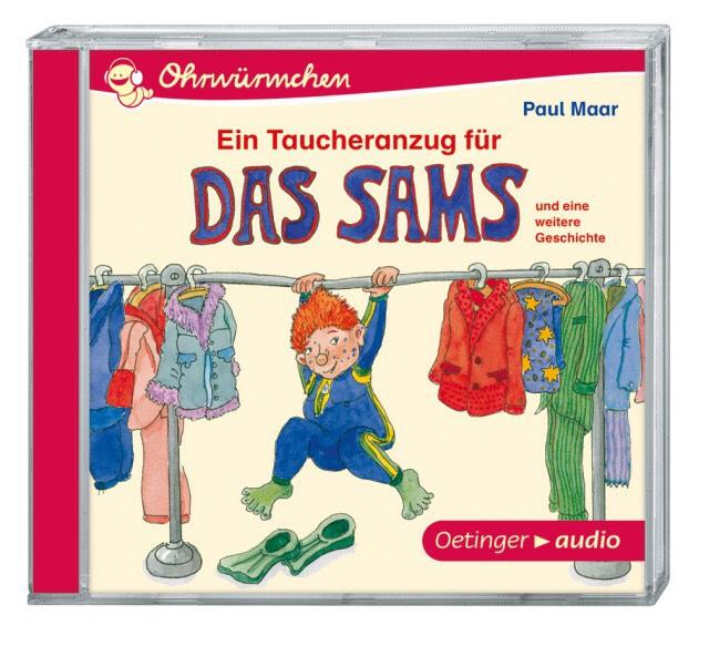 Hörspiel Das Sams: Ein Taucheranzug für das Sams