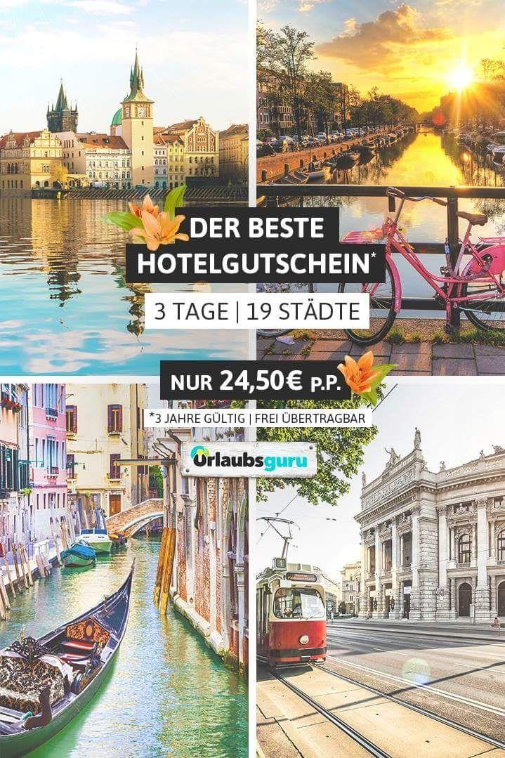 A&O Hotel-Gutschein 19 Städte, 4 Länder, 3Jahre gültig