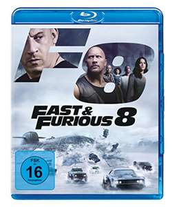 Fast & Furious 8 (Blu-ray) für 6,97€ (Amazon Prime)
