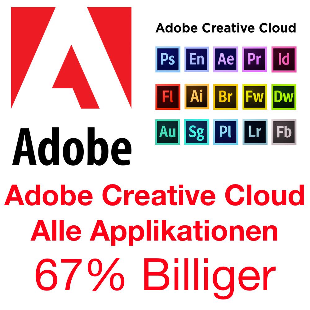 Adobe Creative Cloud bis zu 67% Billiger mit Schritt für Schritt Anleitung Türkei