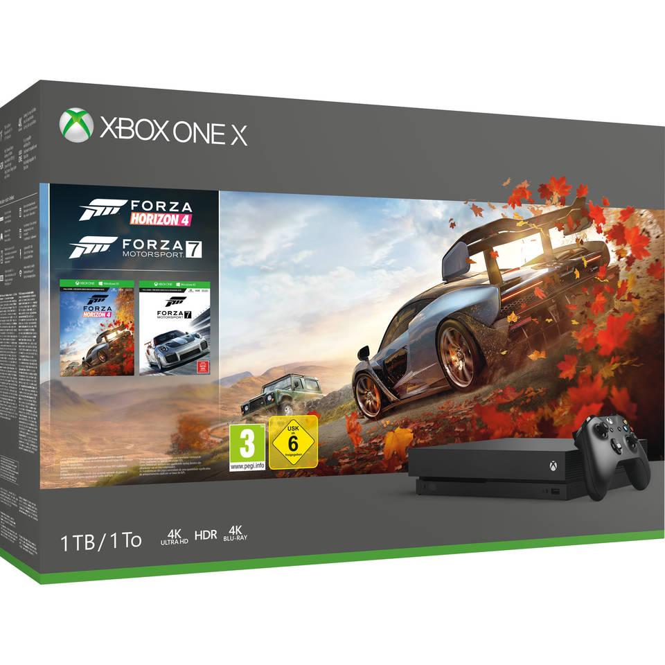 [Grenzgänger NL] Xbox One X 1TB + Forza Horizon 4 + Forza Sport 7 + FIFA 19 @ Intertoys