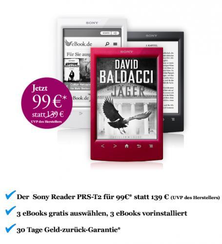 Sony eBook Reader PRS-T2