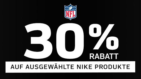NFL Nike Artikel 30% Rabatt - Fanatics / NFL Europe Shop
