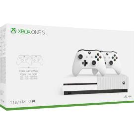 Xbox One S 1TB Konsole + Zwei Controller + Fifa 19 + Halo 5: Guardians für 249,99€ & Xbox One X 1TB Shadow of the Tomb Raider Bundle + Fifa 19 + Halo 5 für 449.99€ (MS Store Irland)