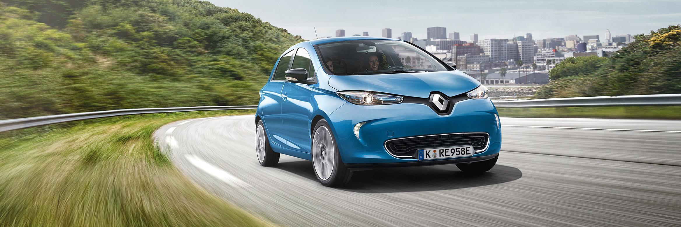 Testen Sie den Renault ZOE jetzt 24 Stunden lang gratis
