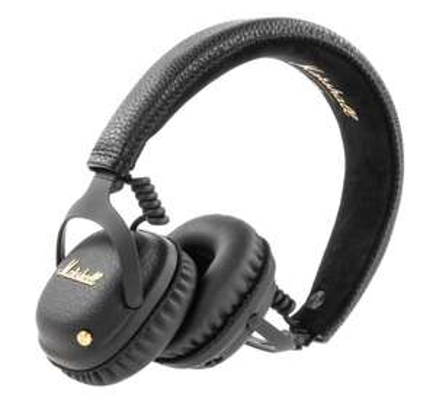 [Comtech] Marshall Mid ANC Bluetooth-Kopfhörer mit Noise-Cancelling On-Ear schwarz