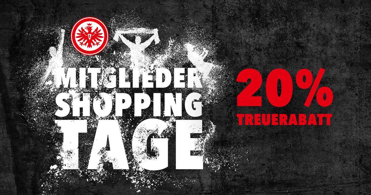 {Eintracht Online Shop} 20% Rabatt für Mitglieder
