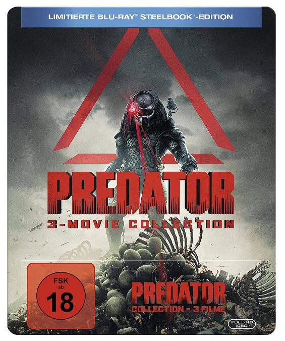 Predator 1-3 Collection (Blu-ray Steelbook) für 22,13€ (Thalia + Amazon)