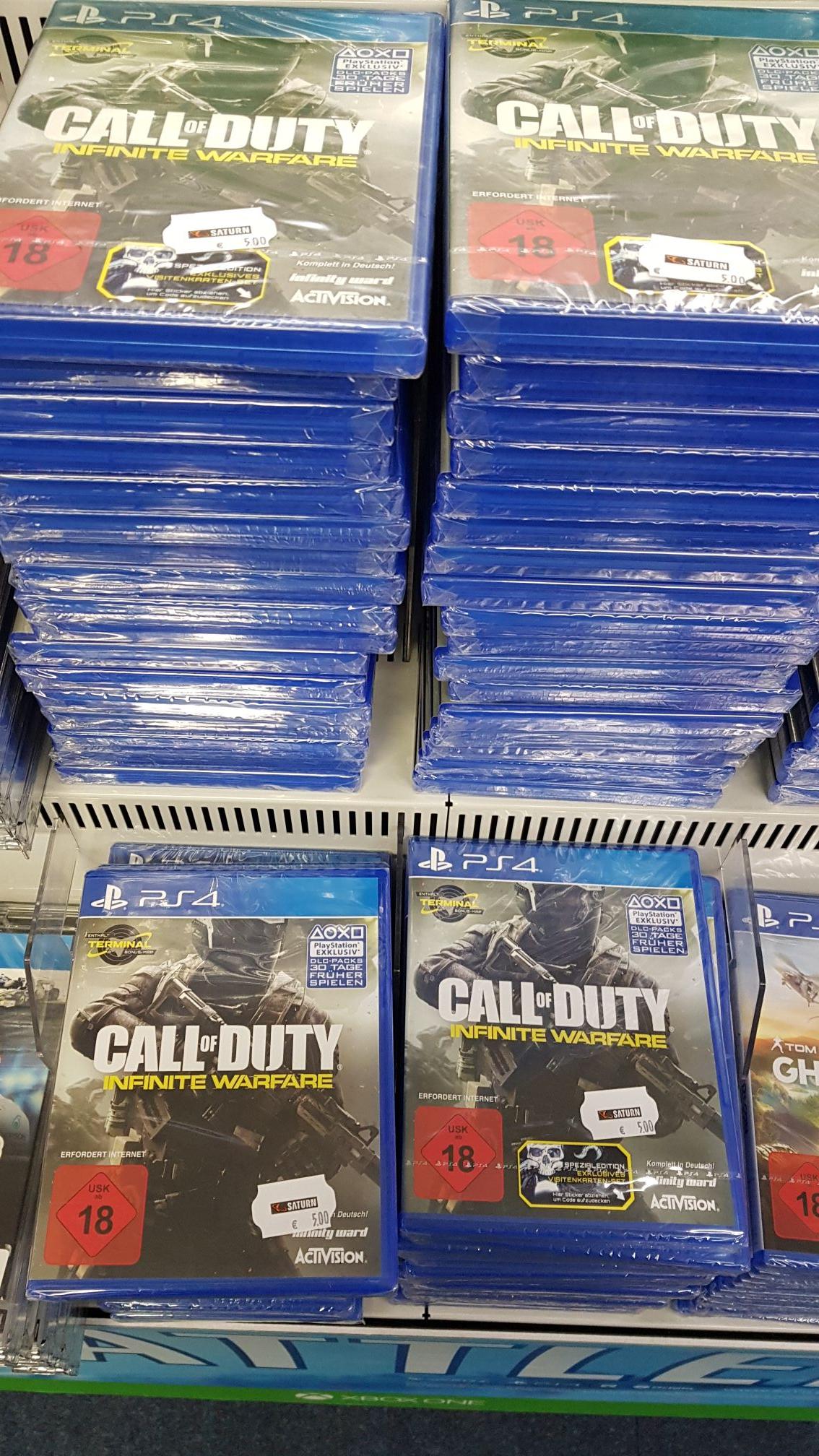 Call of Duty Infinite Warfare PS4 Saturn Köln Hansaring Lokal