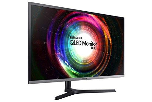 Samsung QLED U32H850 81,28 cm (31,5 Zoll) 4K-Monitor, Pivot, 4 ms, FreeSync