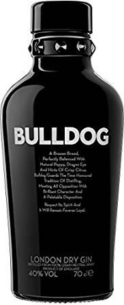 Gin im Tagesangebot bei Amazon z.B. Bulldog Gin für 17,99€ [Amazon Prime]