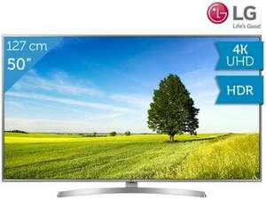 "LG 50"" 4K TV 50UK6950PLB (50 ZOLL / DVB-S2 HD / DVB-C HD / DVB-T2 HD / 4 HDMI-EINGÄNGE / HDR / TIME SHIFT)"