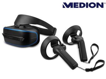 Ibood Medion Erazer X1000 Virtual Reality Headset mit Kontrollern