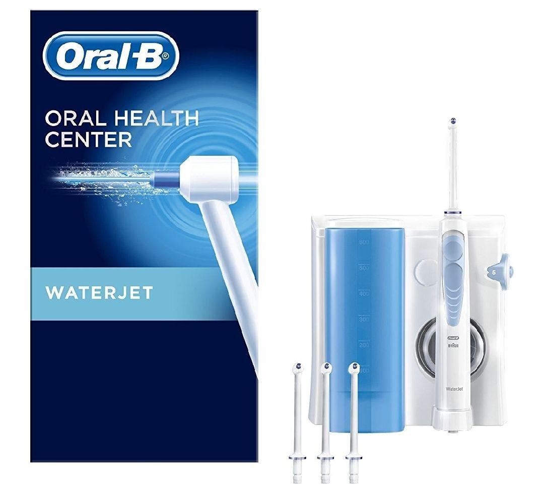Oral-B Reinigungssystem - Waterjet Munddusche, mit vier Waterjet Ersatzdüsen [Amazon]