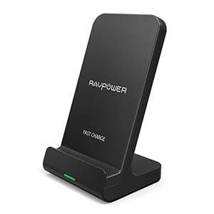 [Prime] RAVPower Fast Wireless Charger (10W/5W, 2 Spulen, ohne QC-Adapter)