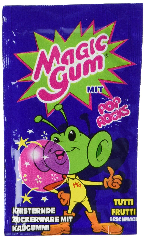 [Nostalgie] Pop Rocks Magic Gum Tutti Frutti 50Stk. im Display