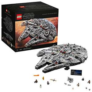 LEGO 75192 Star Wars Milliennium Falcon Ultimate Collector Series auf Lager für nur 628,38 Euro inkl. Versand bei Amazon.co.uk