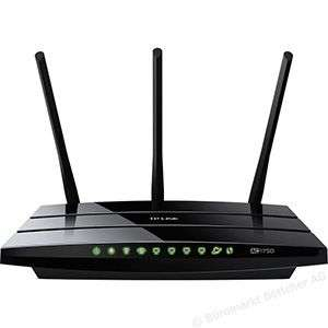 TP-Link Archer C7 5-Gigabit Ports Dualband AC1750 WLAN WiFi Router