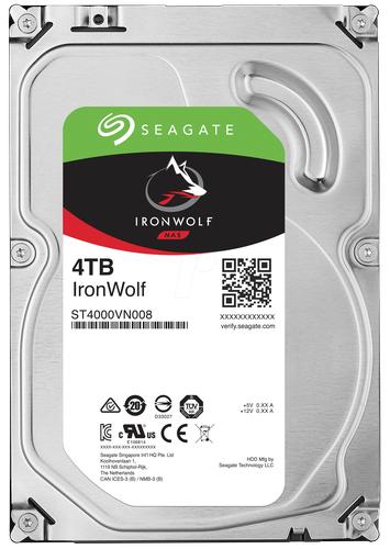 [digitalo] Seagate IronWolf 4TB NAS SMR Server Festplatte (Recertified) Bulk ST4000VN008-FR SATA III