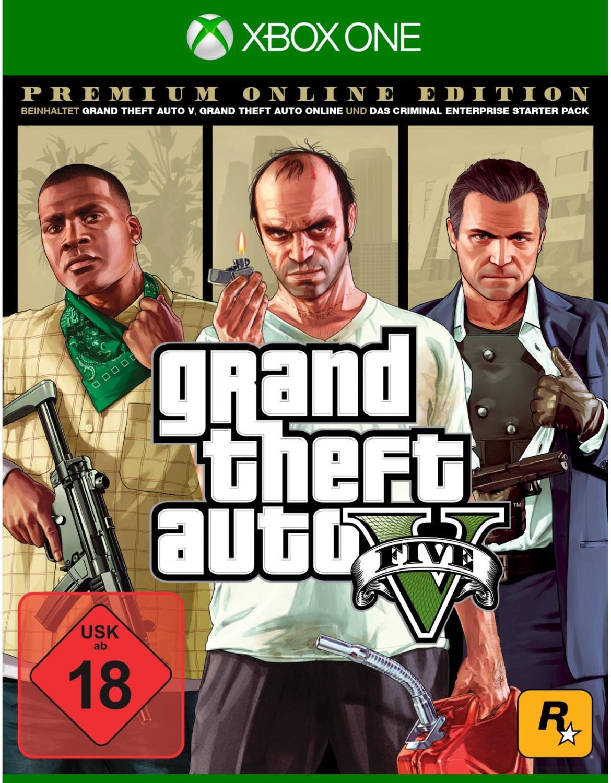 Grand Theft Auto V Premium Edition (Xbox One) für 29€ versandkostenfrei (Media Markt)