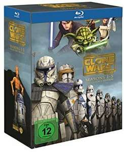 Star Wars: The Clone Wars - Komplettbox Staffel 1-5 [Blu-ray]
