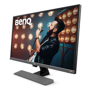 [Amazon] BenQ EW3270U - 80 cm (31,5 Zoll) Monitor, LED, VA-Panel, 4K UHD, HDR 10, AMD FreeSync, Lautsprecher, DisplayPort, HDMI (4ms), USB-Typ C