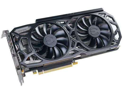 EVGA GeForce GTX 1080 Ti SC Black Edition 11GB (1556 MHz/1607 MHz Boost)