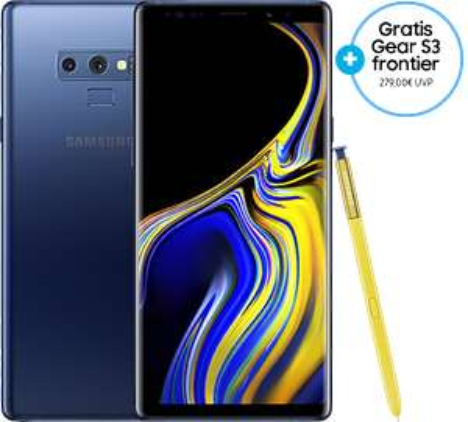 Samsung Galaxy Note9 + Gear S3 Frontier im Samsung Store (corporate benefits benötigt)