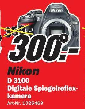 (Lokal Schwäbisch Hall MM) Nikon D 3100 für 250€