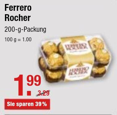 FERRERO Rocher für 1,99 Euro [V-MARKT]