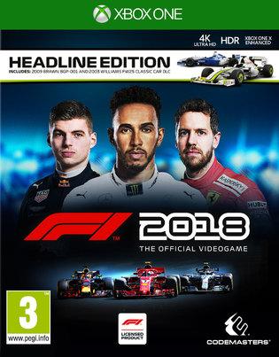 F1 2018 Headline Edition (Xbox One & PS4) für je 39,08€ (ShopTo)