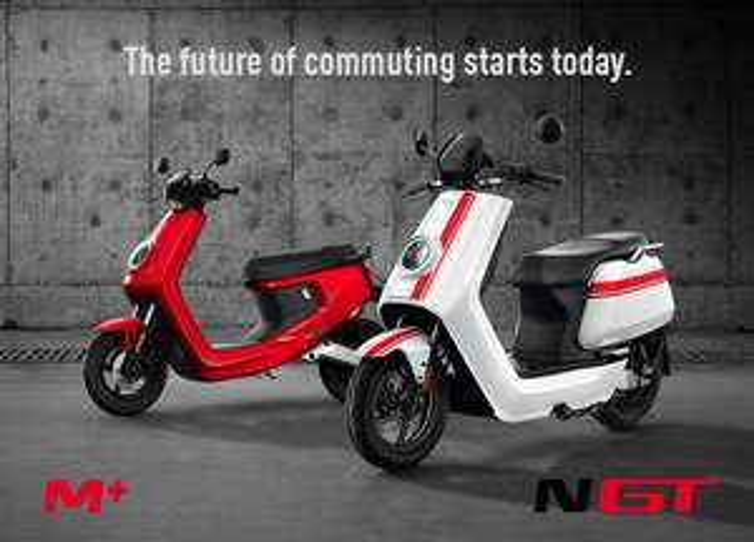 NIU ElektroScooter N-GT, NPro oder M+ inkl. Goodies im Wert von 300.-€
