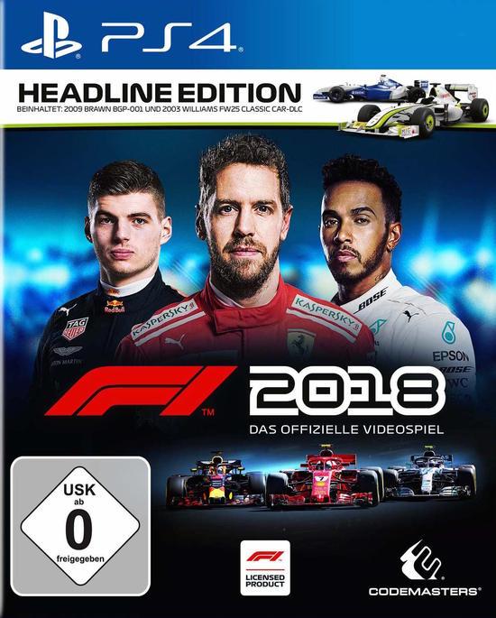 Formel 1 F1 2018 für PS4 im PSN Playstation Store