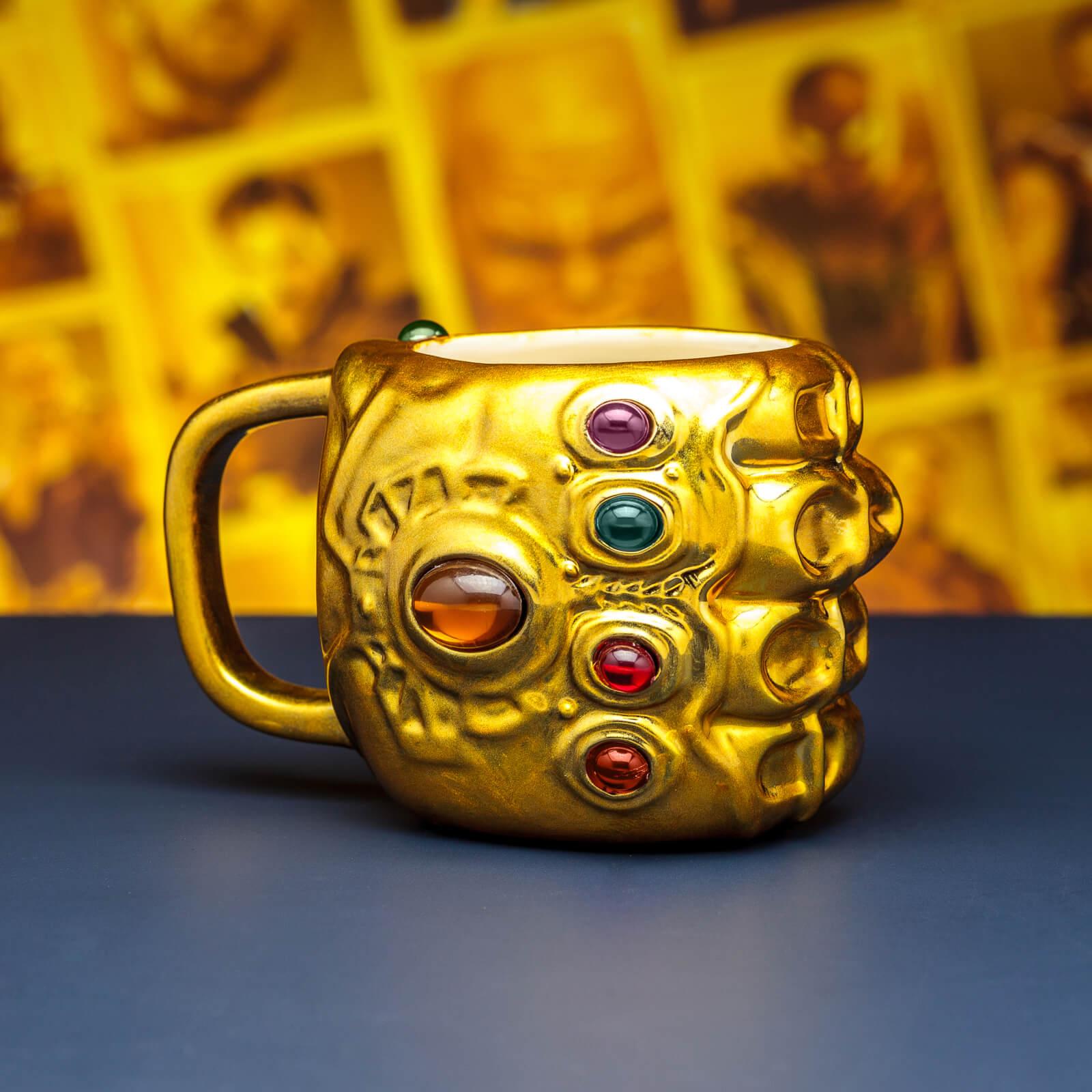 Marvel Avengers Infinity War Gauntlet Tasse
