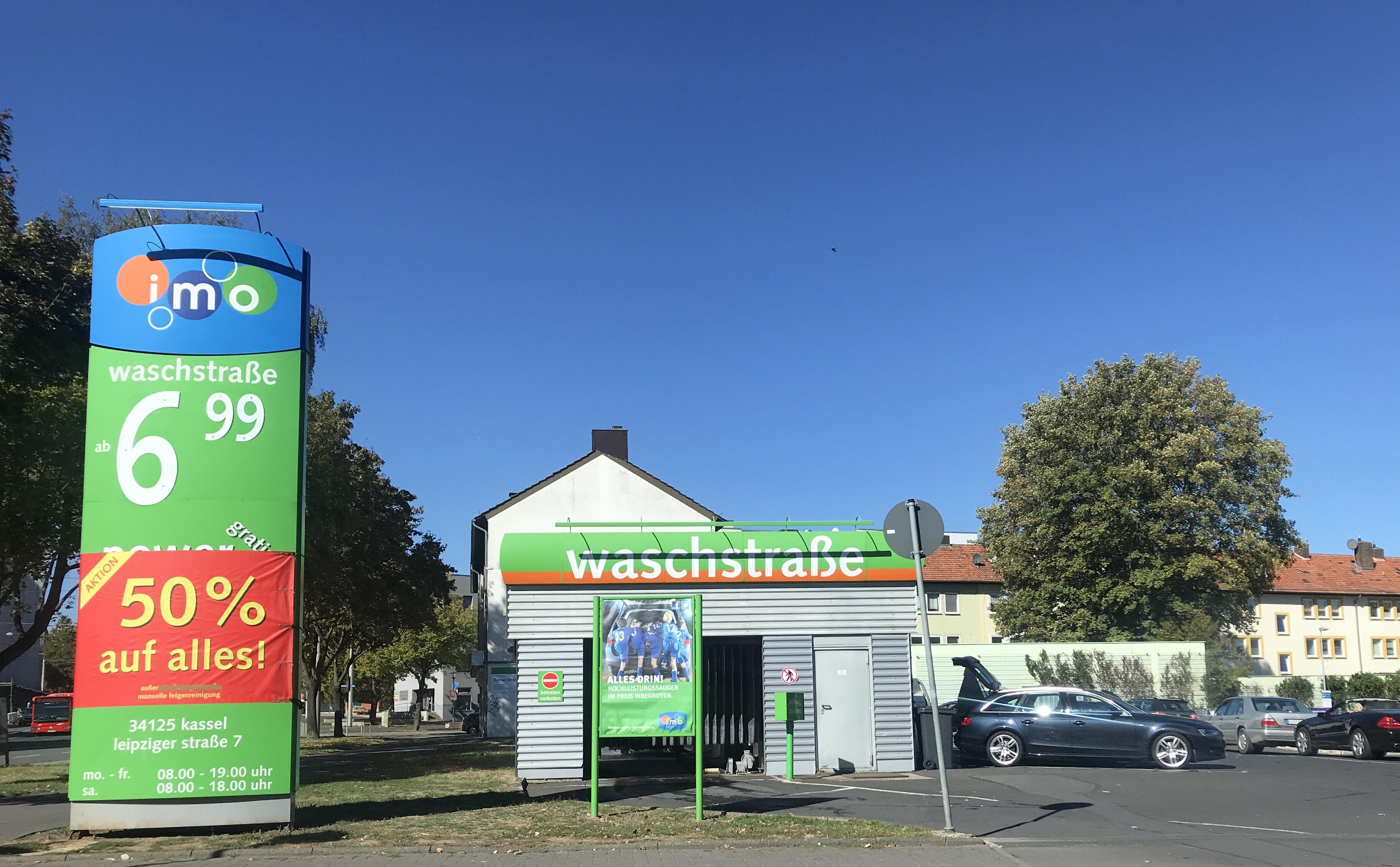 Autowäsche 50% auf Alles IMO [lokal Kassel]