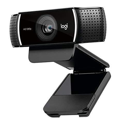 Logitech C922 Webcam, natives 1080p, Schwarz