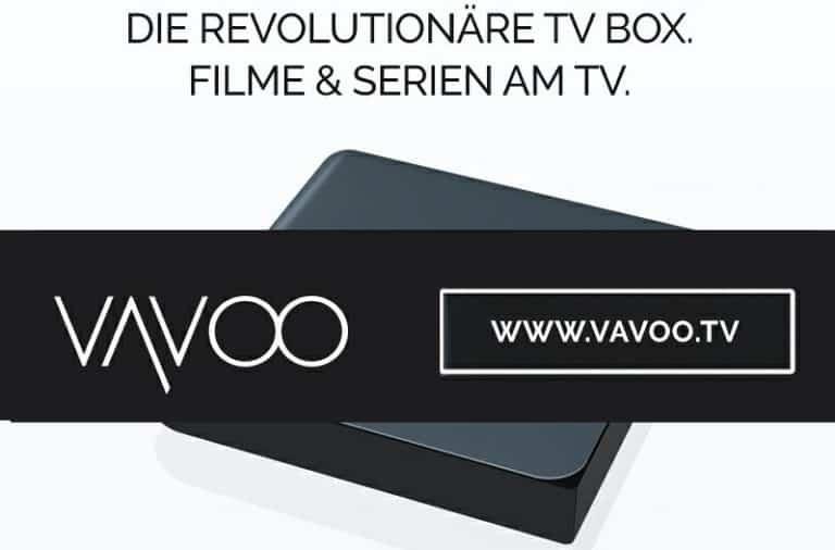 VAVOO TV BOX 5% Rabatt