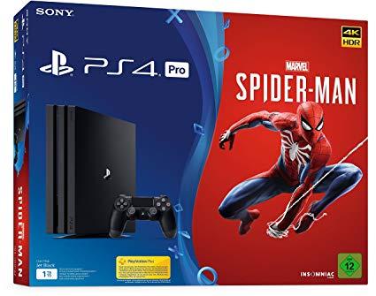 [offline] Playstation 4 Pro 1 TB + Spiderman für eff. 301,20 € I Real Family & Friends