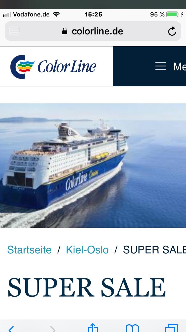 Minikreuzfahrt nach Oslo mit Schlemmerbuffets bei Color Line 165€ p.P.