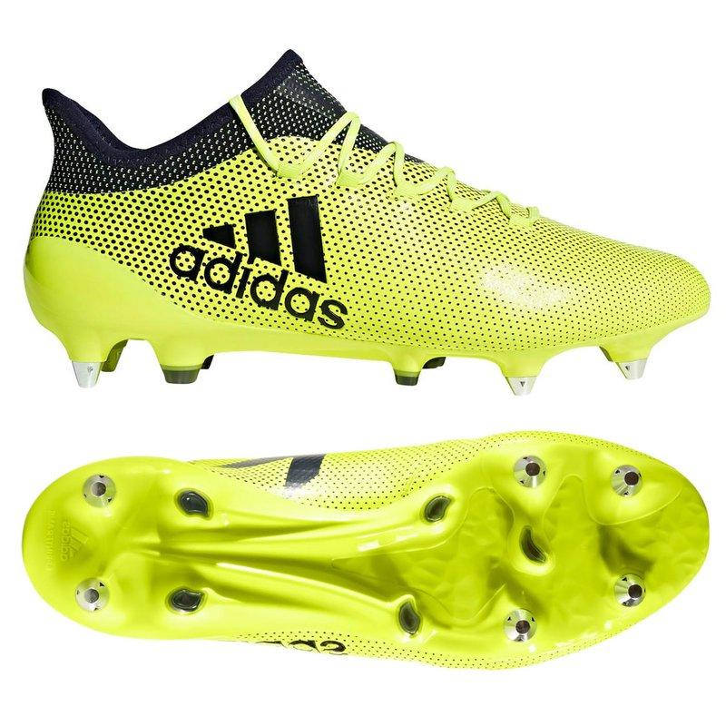 adidas X 17.1 SG Fußballschuhe - alle Größen (Farbe:gelb)