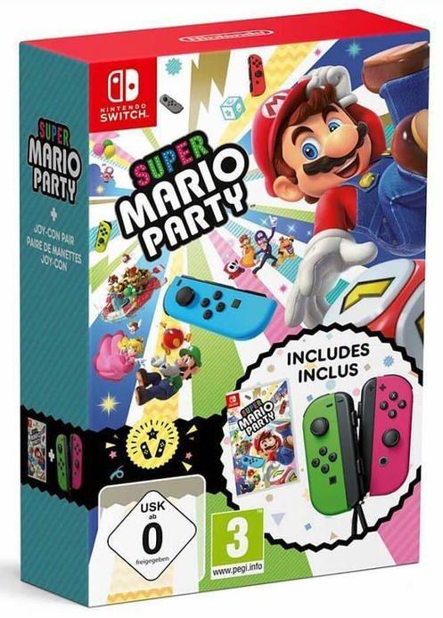 *Nintendo Game Bundle* Super Mario Party + Joy-Con Set