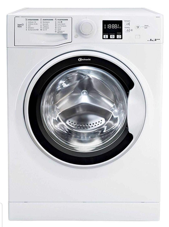 Amazon Herbst Angebot:  Bauknecht WA Soft 8F41 Waschmaschine Frontlader 8kg / A+++ -10% / 1400 U/Min