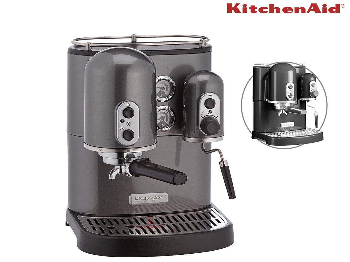 KitchenAid Artisan Espressomaschine (grau oder schwarz) - Siebträger