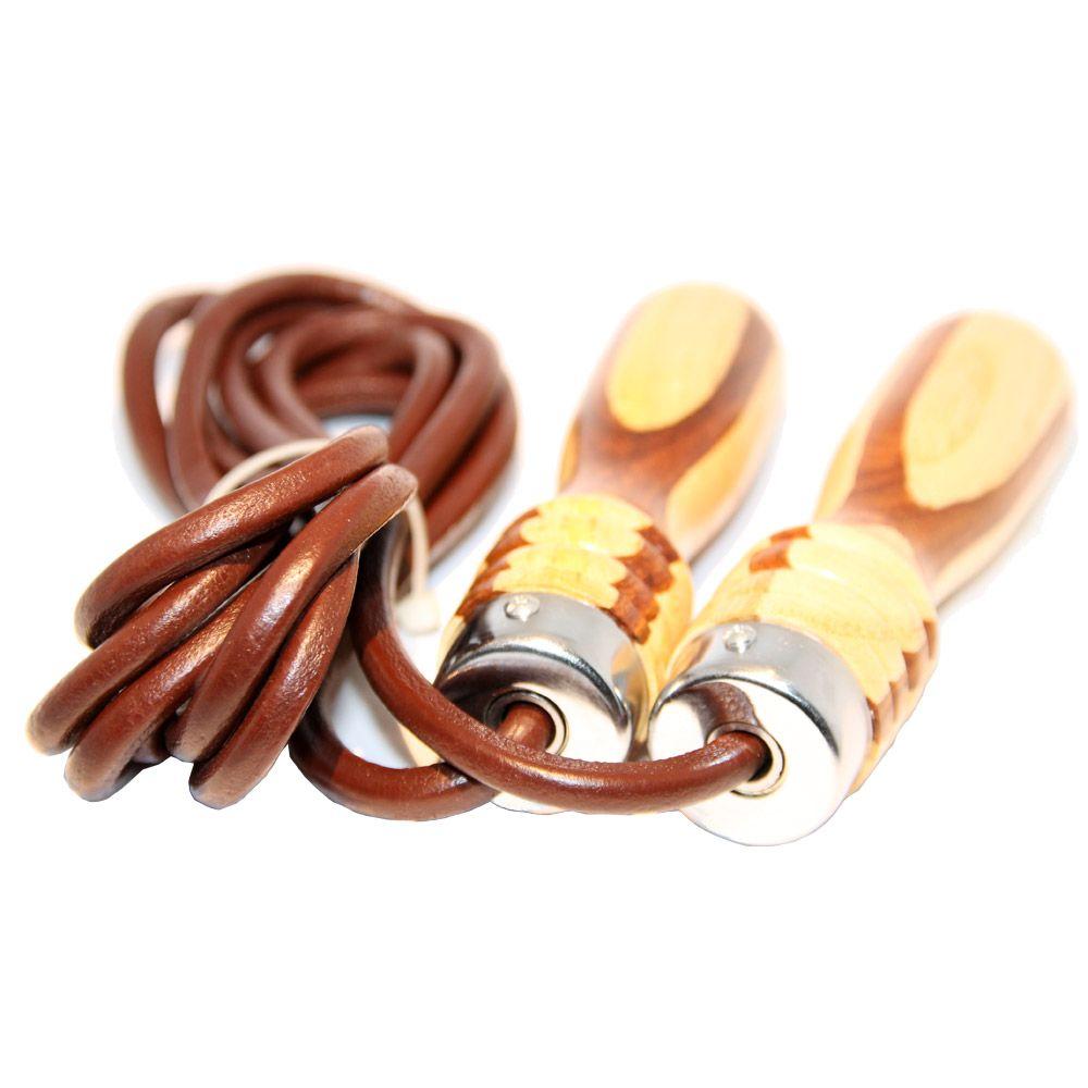Springseil aus Leder oder Stahl mit Kugellager für 9,90€