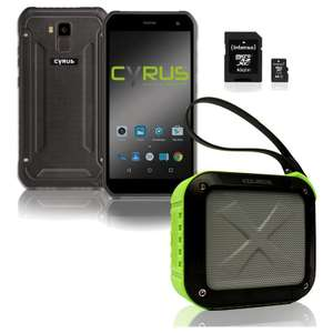 Cyrus Technology Outdoor Bundle [Smartphone + Bluetooth Speaker + 64GB Speicherkarte]