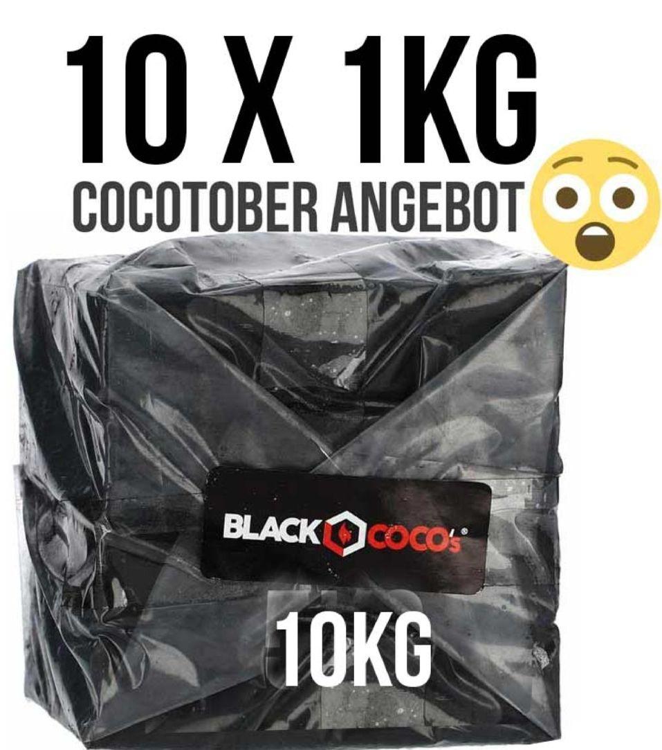 Shisha kohle black cocos 10 kg