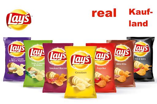 Lay's Chips 175g für nur 0,49€ bei Real (maximal 30 Tüten) Angebot+Scondoo
